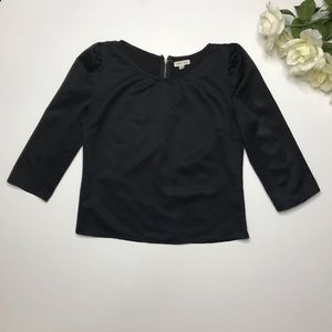 Anthropology Silence + noise back blouse size S